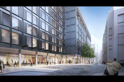 Hopkins' Vine Street student scheme for Urbanest in the City of London